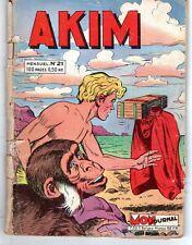 AKIM  21 MON JOURNAL 1960 (UN DES PLUS RARES)