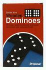 PRESSMAN : CASE OF 12 DOUBLE 9 WOODEN DOMINOES - NEW     ZPRE-1621