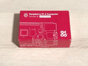 Raspberry Pi 4 Model B 4GB Rev 1.2 BRAND NEW - Free Royal Mail Special Delivery