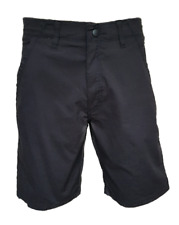 "MEN`S NEW WRANGLER COTTON CASUAL CHINO SHORTS SIZE 36""W BLACK"