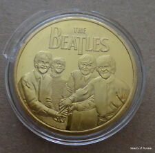 The Beatles 24KT GOLD MEMORABILIA COLLECTIBLE COIN #38se
