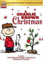 A Charlie Brown Christmas (DVD, 2014, 2-Disc Set, 50th Annivesary)