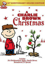A Charlie Brown Christmas DVD 50th Annivesary 2014 Snoopy Linus LucyNEW