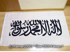 Fahnen Flagge Kalifat Shahada Weiß NEU - 90 x 150 cm