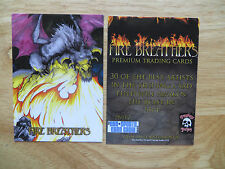 2013 ASYLUM STUDIO FIRE BREATHERS DRAGON PROMO PNSP2 PHILLY NON-SPORT CARD SHOW