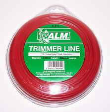 ALM TRIMMER / STRIMMER LINE SL016 BULK PACK RED 3.0mm X 58M HEAVY DUTY PETROL