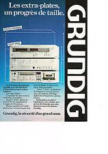 PUBLICITE  ADVERTISING  1980   GRUNDIG   tuner T 5000