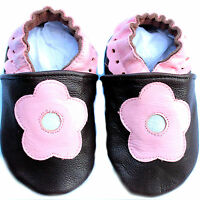 Baby and Toddler Shoes 0-6, 6-12, 12-18 Months. 2 - 3 Years. Pure Soft Leather