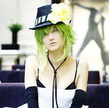 VOCALOID GUMI Megpoid Grass Green Gradient Color Cosplay Wig + free wig cap