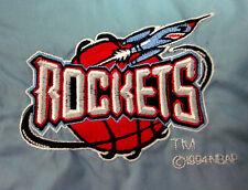 HOUSTON ROCKETS kids basketball windbreaker size 6 youth jacket 1994 rare logo