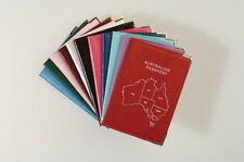 Personalised Monogrammed Genuine Leather Passport Travel Wallet - FREE LUG TAG