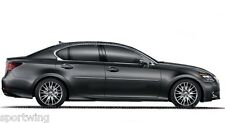 For: LEXUS GS Painted Body Side Mouldings With Chrome Insert Trim 3M 2013-2018
