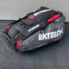 New listing Ektelon EXO3 Racquetball Tour Bag, 27.5L x 16W x 12H, 6 Rackets, 5 Compartments