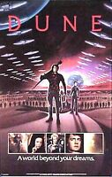 "Original 1984 Dune Movie Poster- Paul/Fremen- 22""x34""  Excelent- Rolled!"