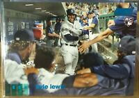 2020 Topps Stadium Club Blue Foil #249 KYLE LEWIS RC SEATTLE MARINERS SSP 19/50