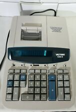 Victor 1560-6 12 Digit Heavy Duty Commercial Printing Calculator Large Display�