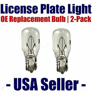 License Plate Bulb 2pk OE Replacement Fits - Listed Saturn Vehicles - 24