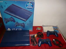 Console Sony Play Station 3 PS3 SUPERSLIM 12 GB BLUE EDITION con HD 250 GB – PS3