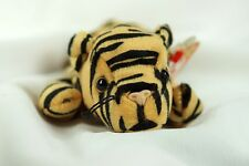 Ty Beanie Baby STRIPES 1995 Bengal Tiger Tag ERRORS Plush Toy RARE NEW RETIRED