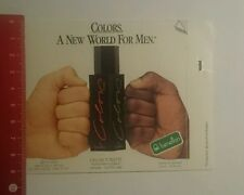 Aufkleber/Sticker: Colors a New World for Men Benetton (241016141)