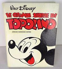 le grandi storie di topolino, prima edizione,  1979 perfetto!