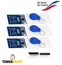 Kit RFID RC522 Lecteur, Puce et Carte pour Arduino et Raspberry TimerMart