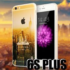 iPhone 6+ / 6S+ Plus HARD RUBBER GUMMY CASE COVER NEW YORK EMPIRE STATE BUILDING