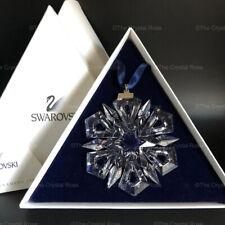 RARE Swarovski Crystal 1999 Annual Star Snowflake Christmas Ornament 235913 Mint