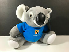 Australian Open Tennis Koala Plush Toy 2013 Tag Shirt Grand Slam Mascot