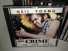 NEIL YOUNG CRIME IN THE CITY RARE CD RECORDED LIVE FRANKFURT GERMANY 1989