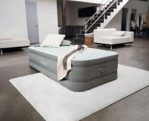 B-Ware Intex Einzelbett Luftmatratze Luftbett PremAire® Twin 64472