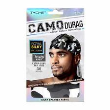 Tyche Silky Durag Camo Royal Silky Collection Ultra Stretch