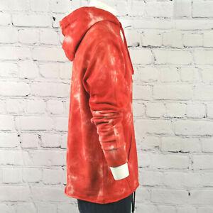 Men's True Religion Hoodie Red & White Oversized Hooded Jumper S - 3XL RRP $129