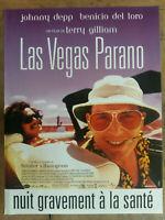 Plakat - Las Vegas - Angst und Abscheu Terry Gilliam Johnny Depp Benicio Del