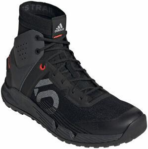 Five Ten Trailcross Mid Pro Flat Shoes | Core Black/Grey Two/Solar Red | 10.5