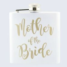 Wedding Mother Of The Bride Bridal Hen Party 6oz Drinks Beverage Hip Flask