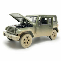 1:32 Jeep Wrangler Off-road SUV Model Car Diecast Toy Collection Sound & Light