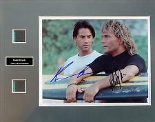 Point Break Signed Photo Film Cell Presentation