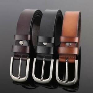 New Quality Genuine Full Grain Leather Men's Belt Australian