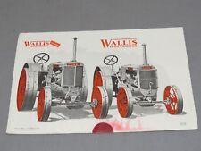 Wallis 12-20 farm tractor canvas art print by Richard Browne