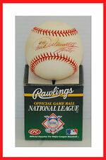 Turk Wendell Mets Autographed Hand Signed Official MLB Baseball.