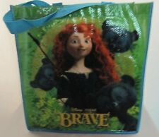 New Disney Store Brave Reusable Tote Shopping Gift Grocery Bag Merida Bear Cubs