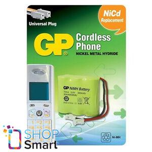 GP T314 Teléfono Inalámbrico Cargador Batería Níquel Metalhidruro Universal 3.6V