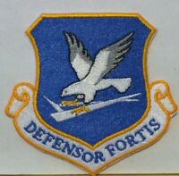 United States Air Force DEFENSOR FORTIS  Iron-On Military Patch USAF #2