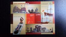 Hoja bloque  Año 2010. Edifil 4560 Expo Shangai