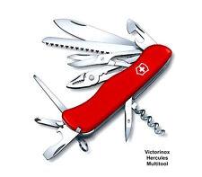 VICTORINOX HERCULES LOCKBLADE SWISS ARMY KNIFE -Black Nylon Pouch SWITZERLAND