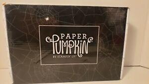 Stampin up paper pumpkin kit Frights & Delights. September 2018