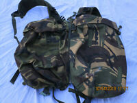 Webbing 90 Side Pouches & Yoke Dpm , Plce Daypack, Side Pockets, 2001/1999