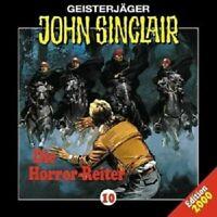 JOHN SINCLAIR: FOLGE 10 - DIE HORROR-REITER  CD NEW