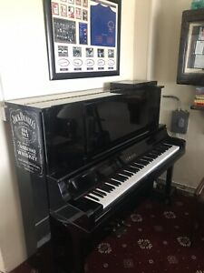 A 1991, Yamaha UX30A upright piano with fitted Disklavier MX100 player system